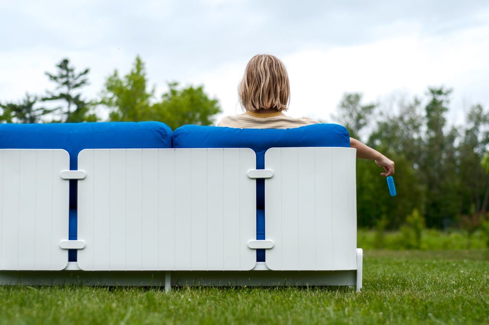 Ghislaine Viñas and Brad Ascalon's outdoor furniture collaboration with Loll Designs.