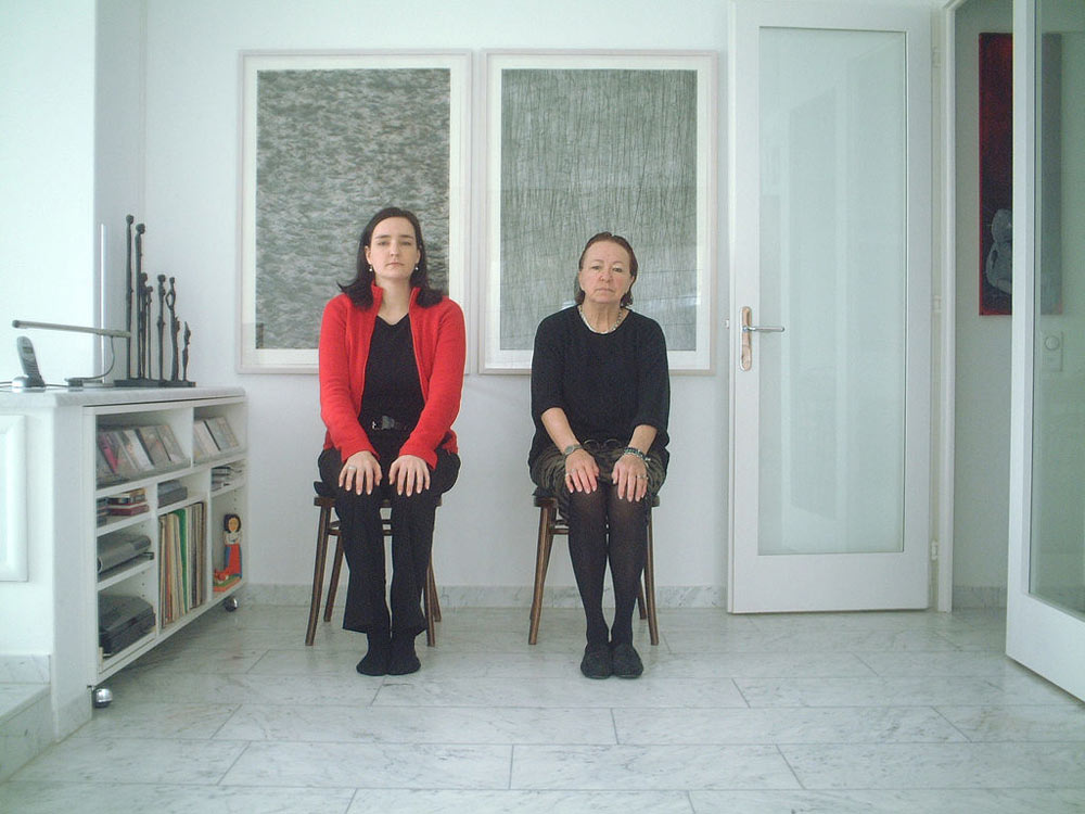 Tina and her Aunt Hugi
