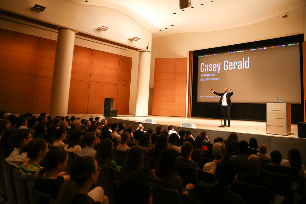 Casey Gerald at CreativeMornings in New York