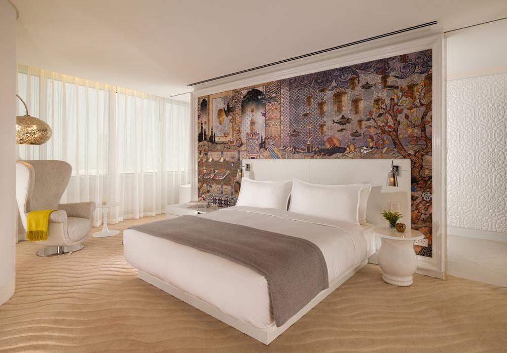 Mondrian Doha Bedroom Suite