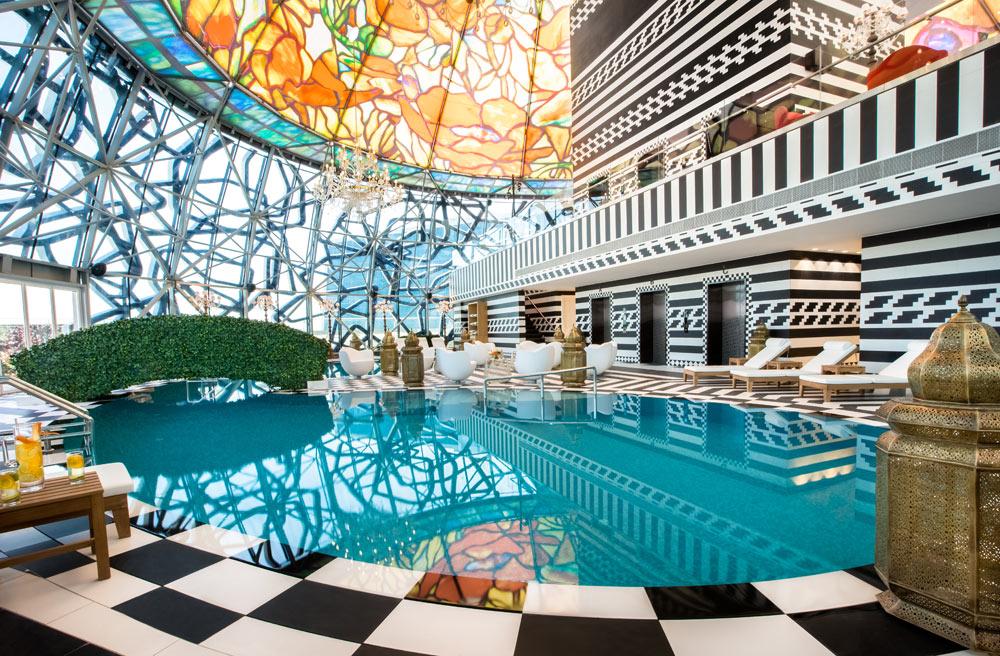Mondrian Doha pool