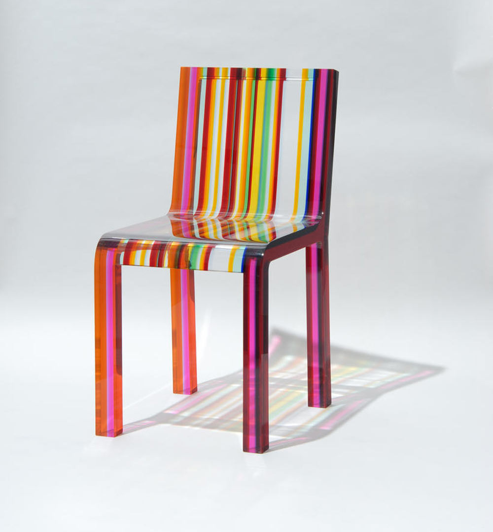 Rainbow chair by  Patrick Norguet  for Cappellini