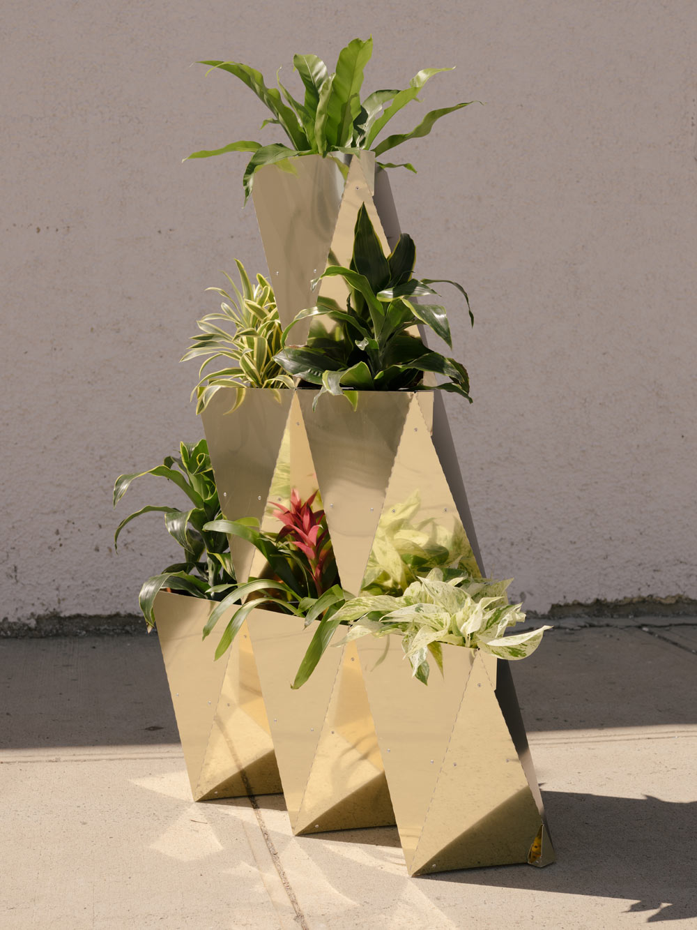 Prism Planter Modular Planter System. Photo: Dan McMahon