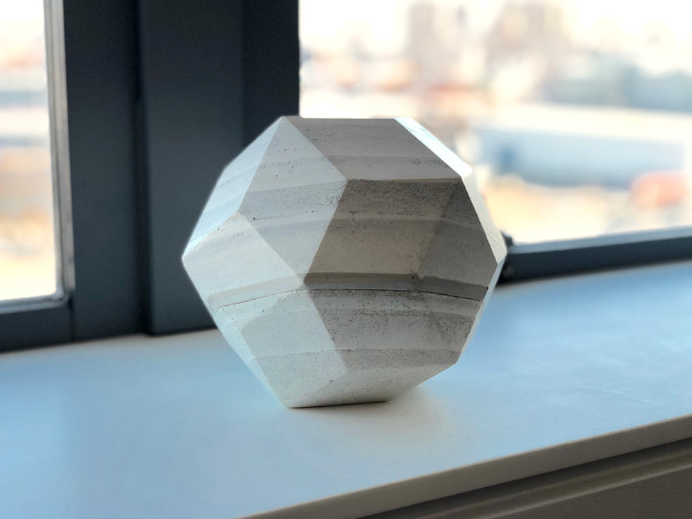 """Object from the """"Rhombic Triacontahedron Series"""" by Dev Harlan"""
