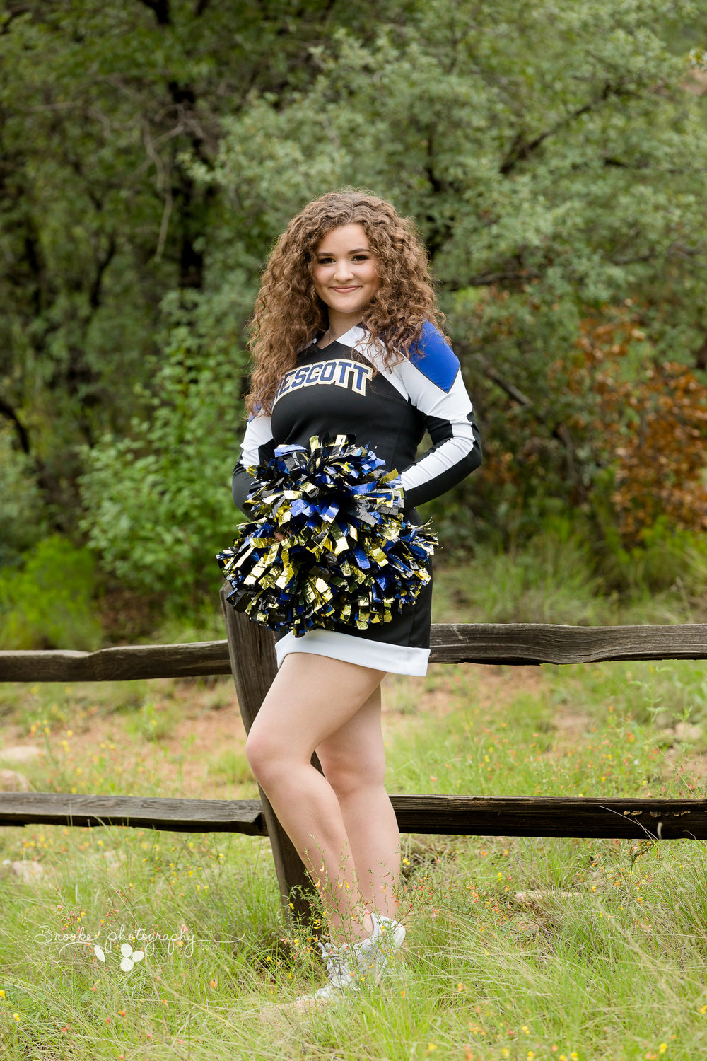 "Camryn has been involved with cheerleading since she was in kindergarten, and she's been a Varsity cheerleader at Prescott High School for 2 years. She was also a JV cheerleader as a Freshman. Camryn has a passion for dance, and a growing ""like"" for sing and acting due to her sister Kaela's influence."