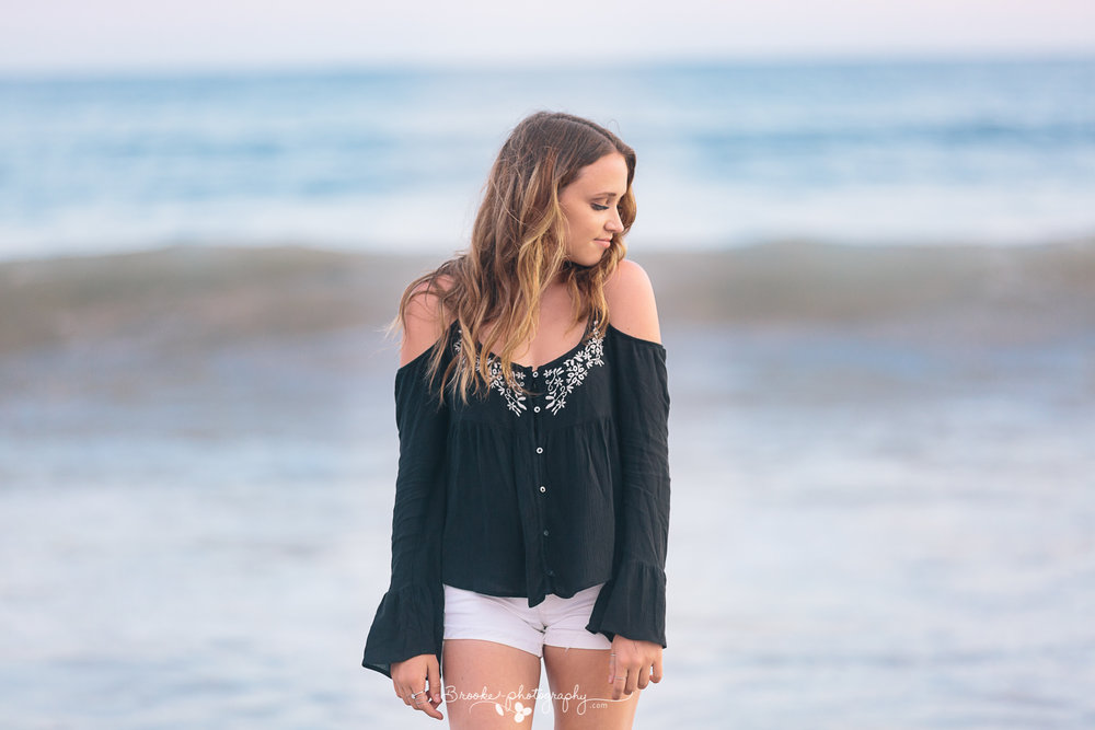 We adore this shot of Caitlyn...kind of wish we were back there in Santa Monica right now!