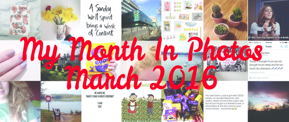 My Month In Photos March 2016 - 21 photos promo.