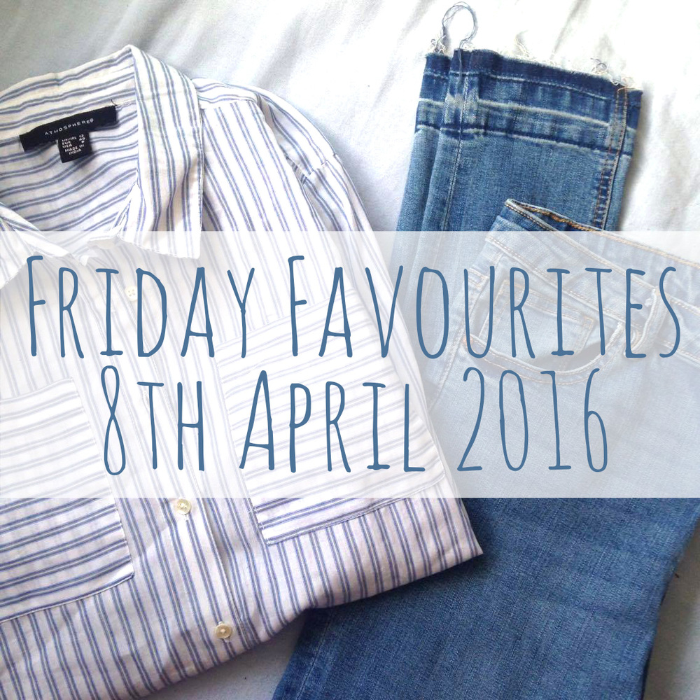 Friday Favourites 08.04.16 promo photo.