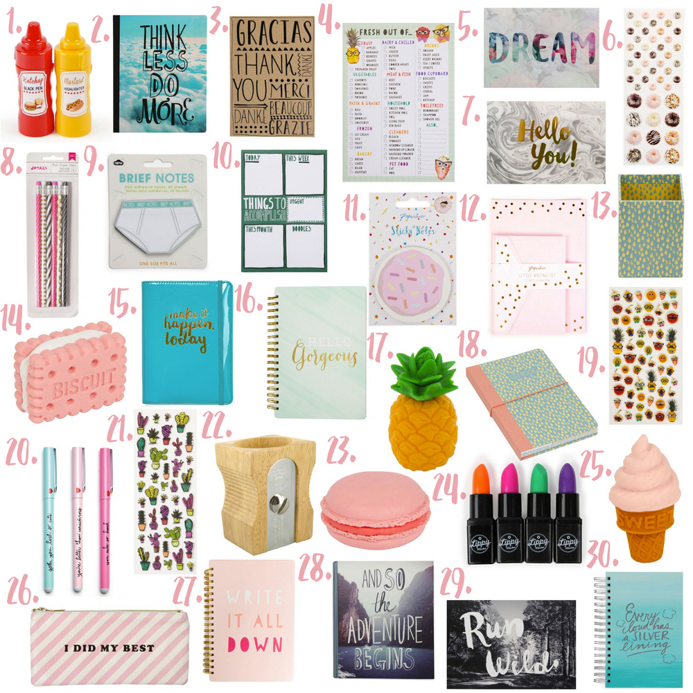Paperchase Wishlist.