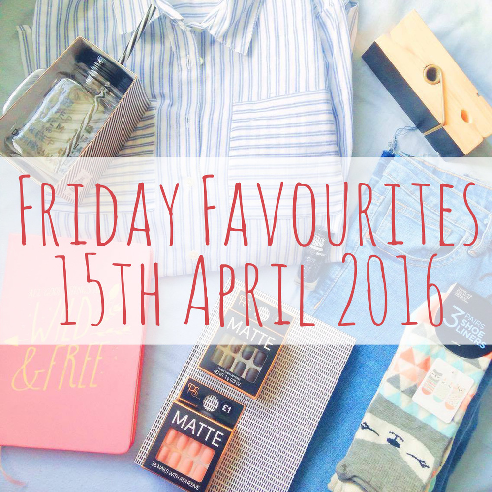 Friday Favourites 15th April 2016 Promo Photo.