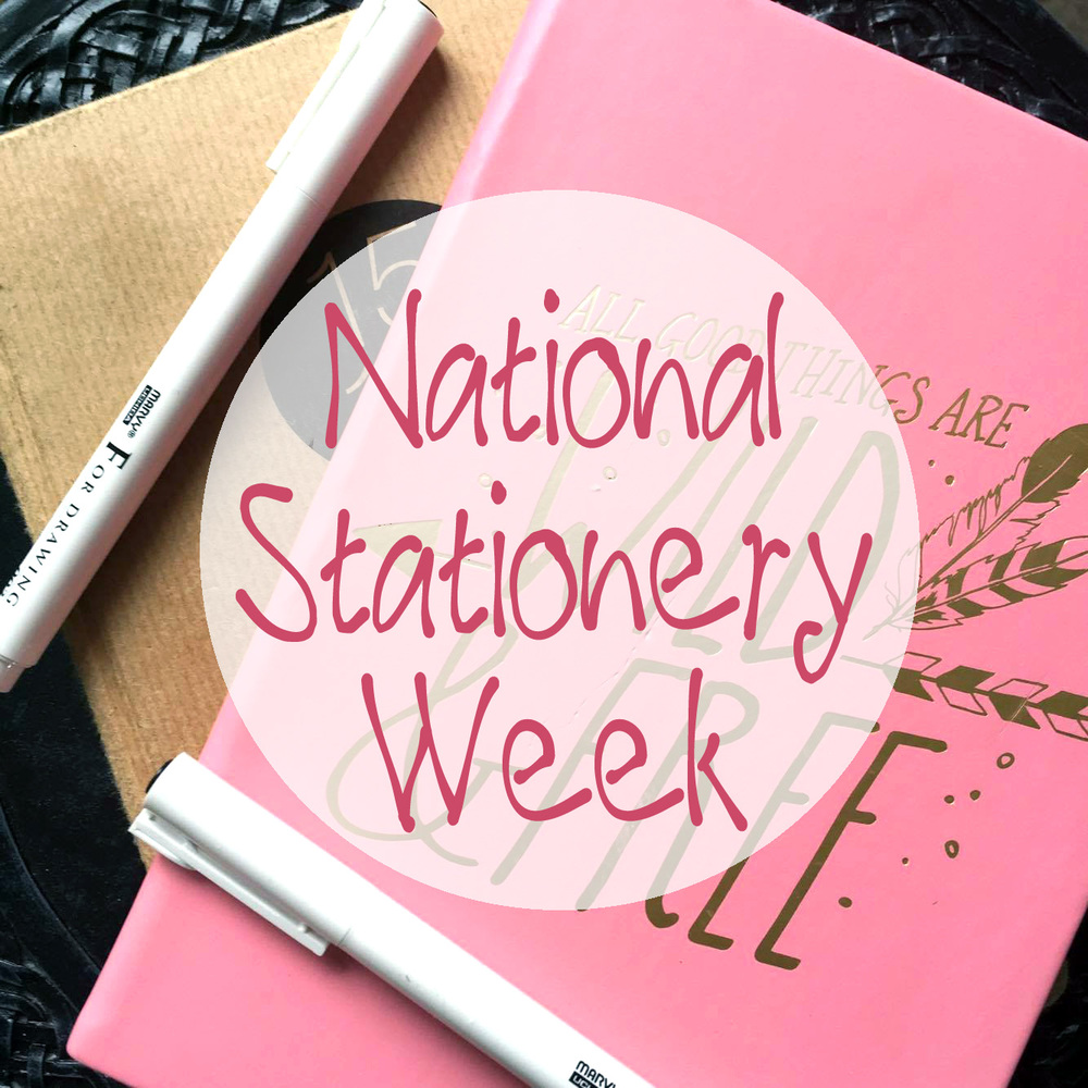 National Stationery Week Promo Photo.
