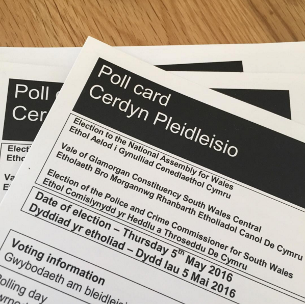 Welsh National Assembly Elections.