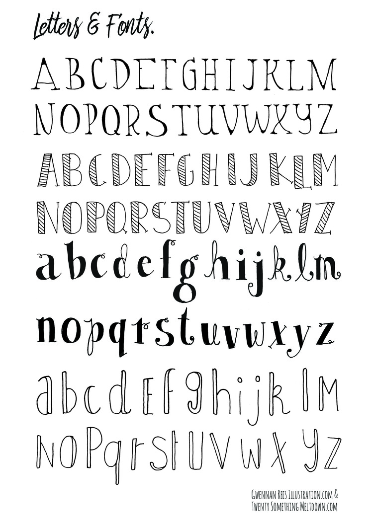 CLICK TO DOWNLOAD LETTERS AND FONTS PAGE 1