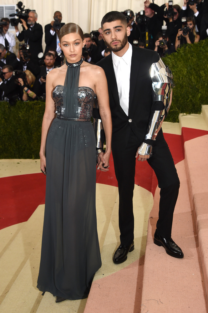 GiGi Hadid & Zayn Malik couple goals at The Met Gala. *Photo take from Huffington post.