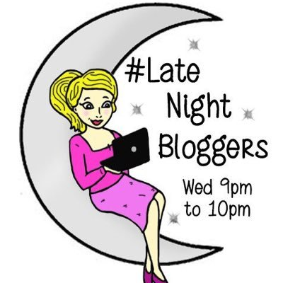 Late Night Bloggers logo created by Aloha Lola Cards.