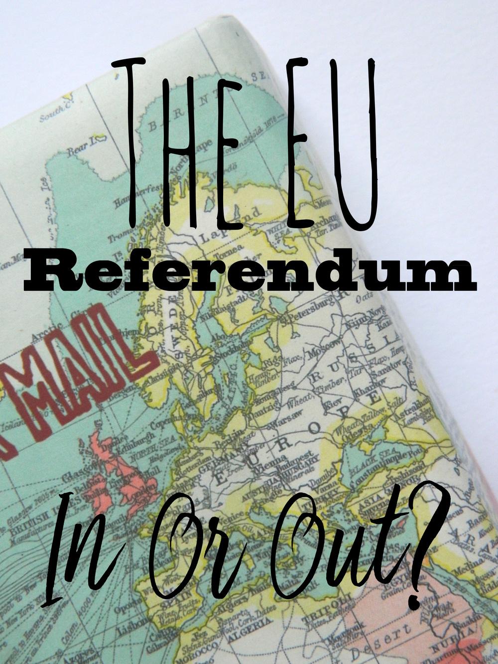 Visit the EU Referendum website here .