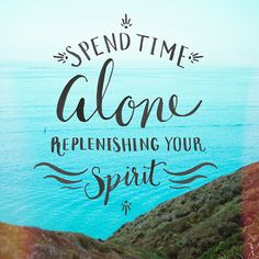 Time Alone - pinned by here!