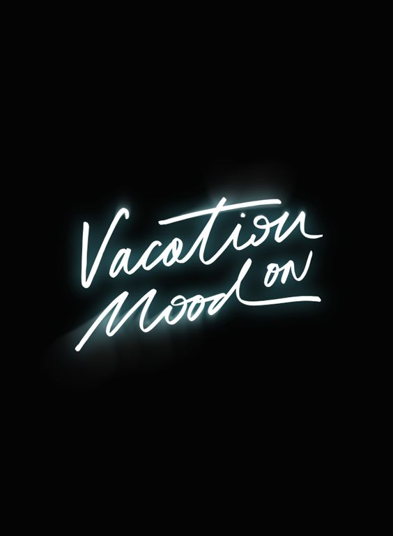 Vacation Mood On - Pinned from here!