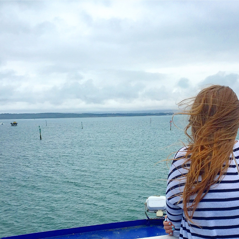 Heading out to my happy place: The Isle Of Wight.