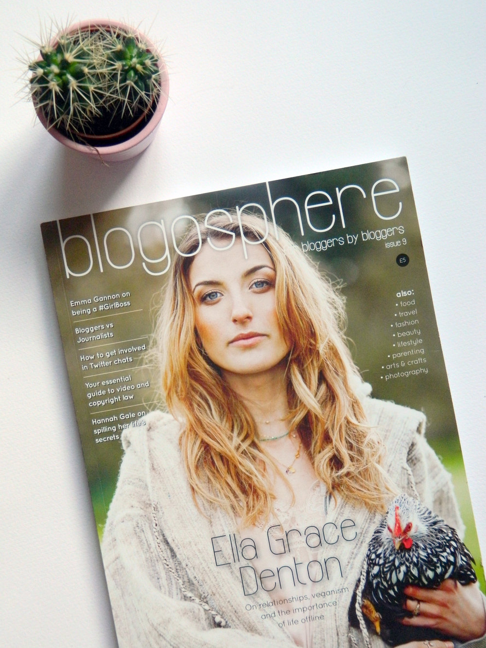 Bloggersphere Magazine Issue 9.