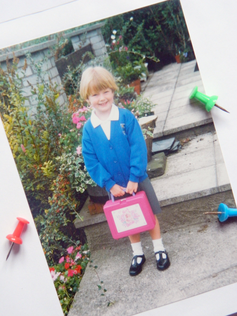 My first day of school circa 1996.