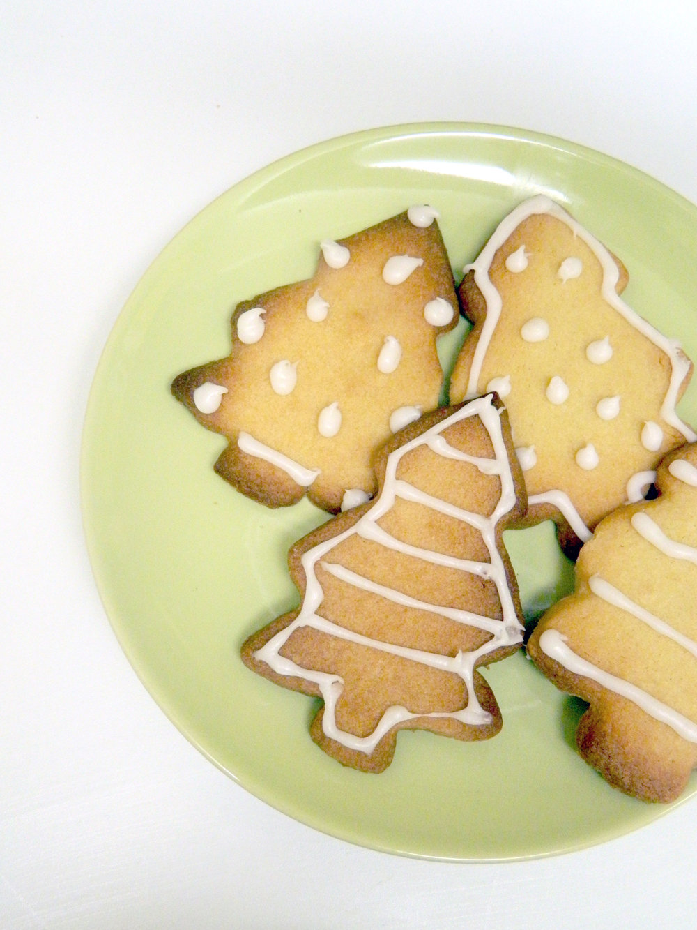 Pinterest Inspired DIY 002; Christmas Tree Biscuits.