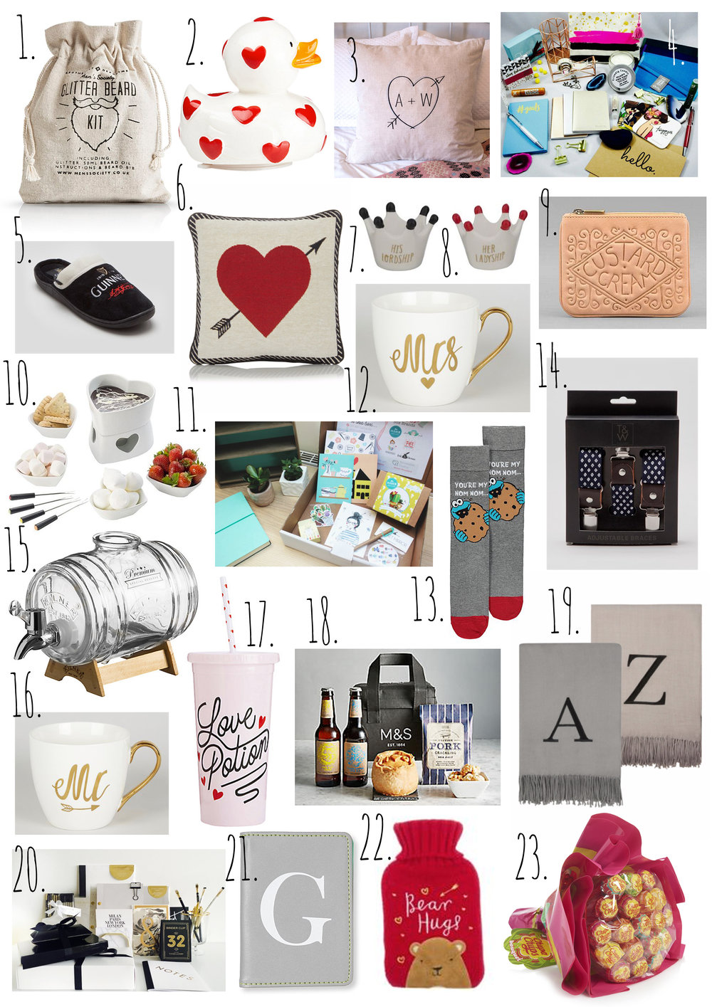 The Ultimate Valentine's Gift Guide for Him, Her & Everyone Else.