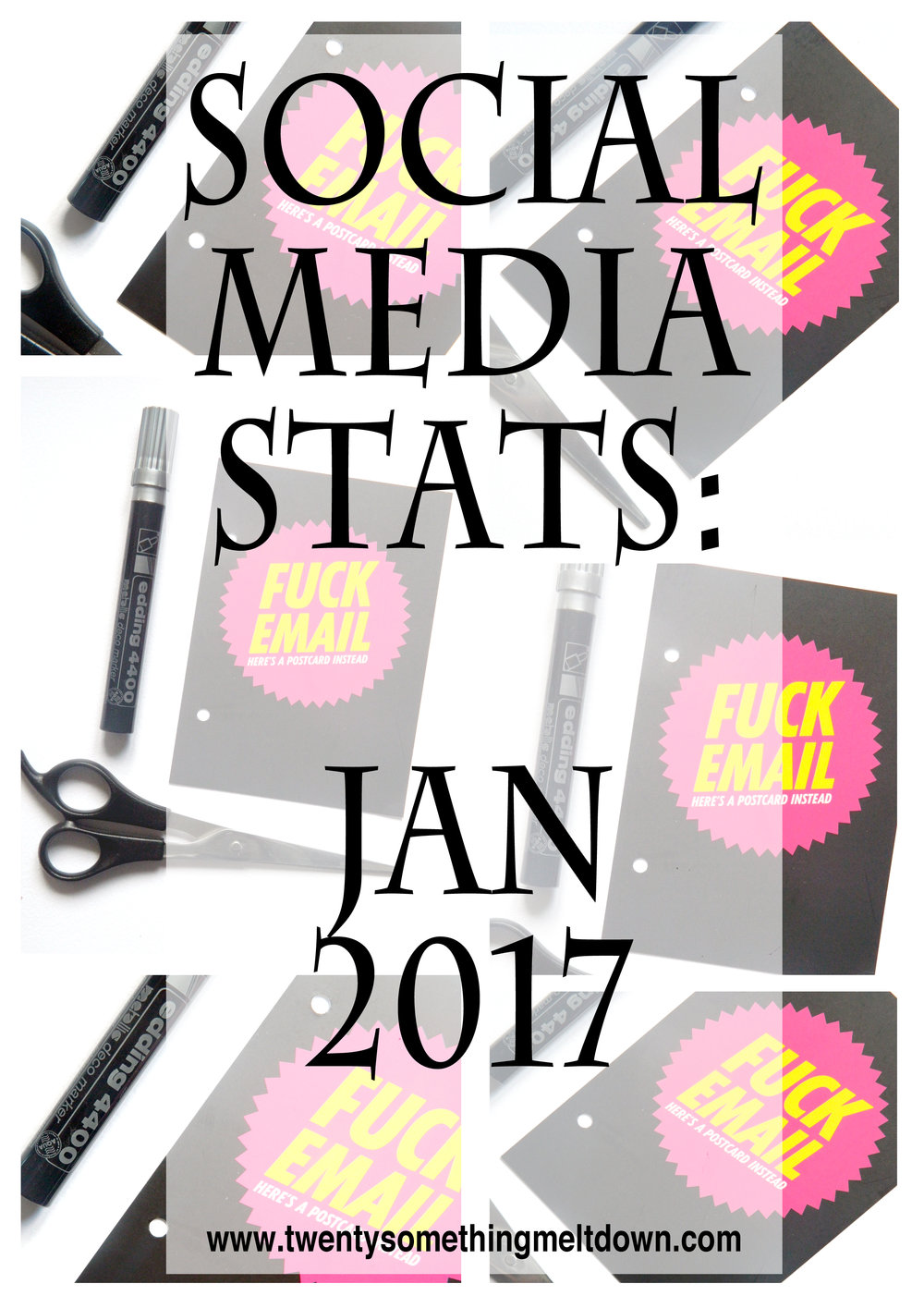 Social Media Stats: January 2017