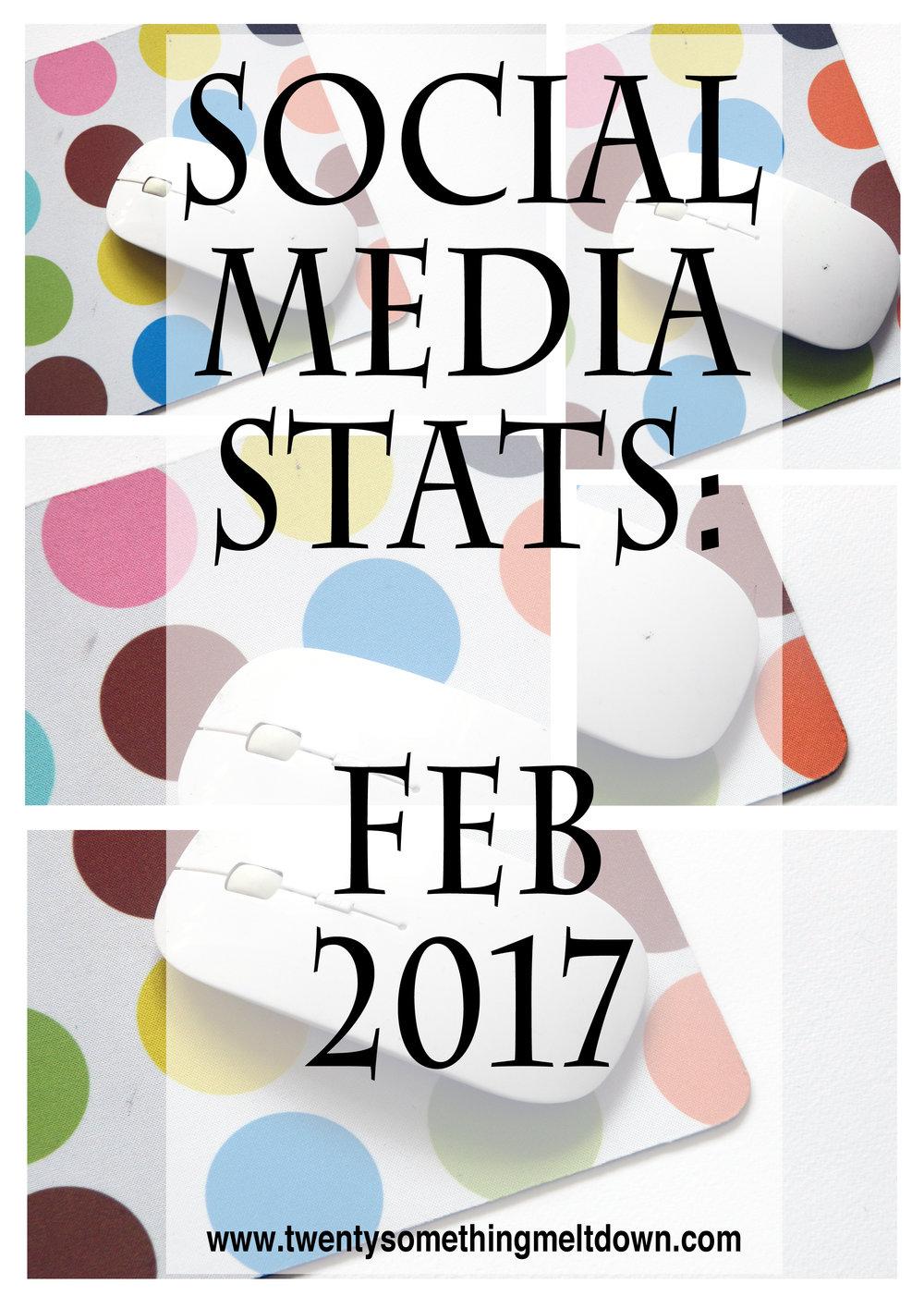 Social Media Statistics - February 2017