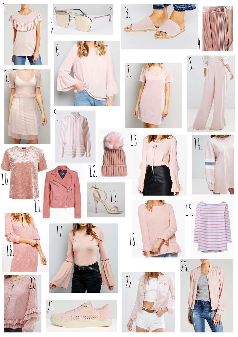 Blush Pink Wishlist.