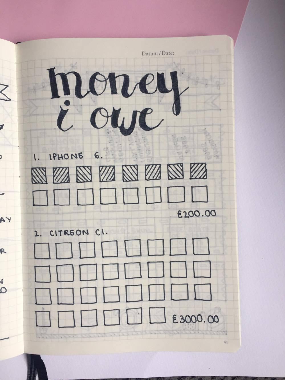 Money Owed Tracker.