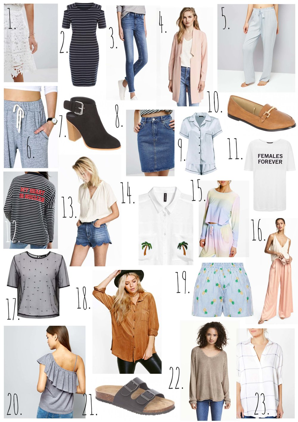 23 Things I Need In My Summer Wardrobe.