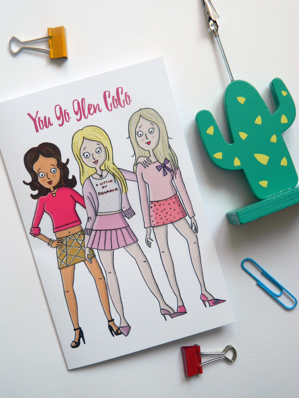Mean Girls card - £1.95 on my Etsy.