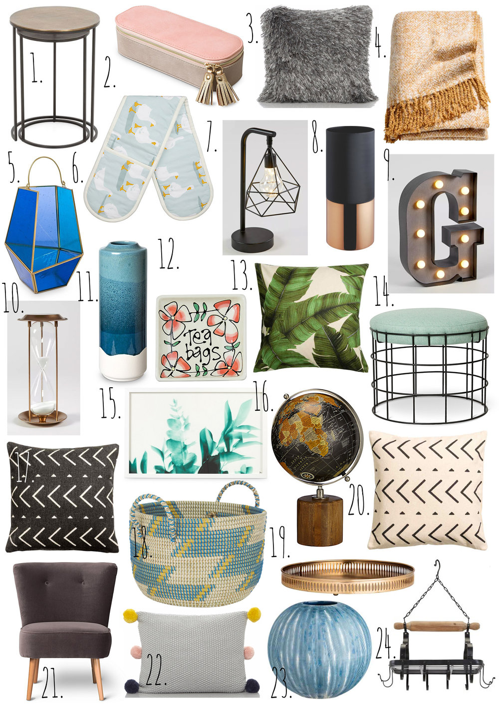 Homeware July 2017