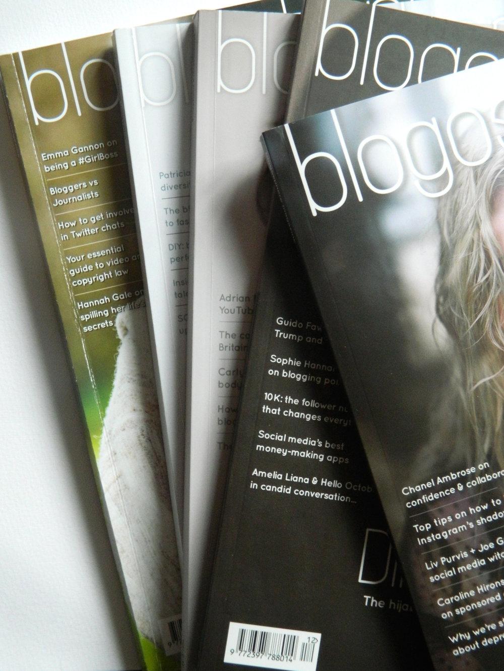 Blogosphere Magazine Issues.