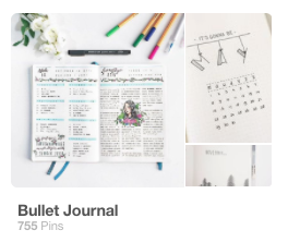 Follow my bujo Pinterest board here! -