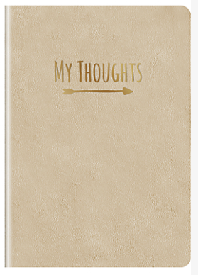 My Thoughts A5 journal