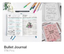 My Bullet Journal  - board - follow here!