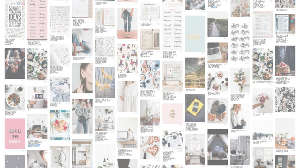 My Pinterest love affair -
