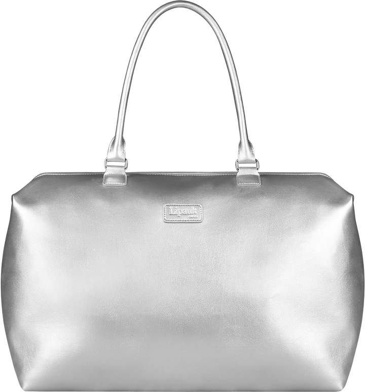 Silver Weekend Bag