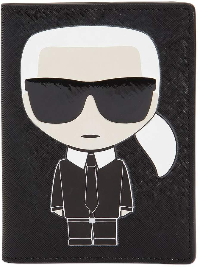 Karl Lagerfeld Passport Holder