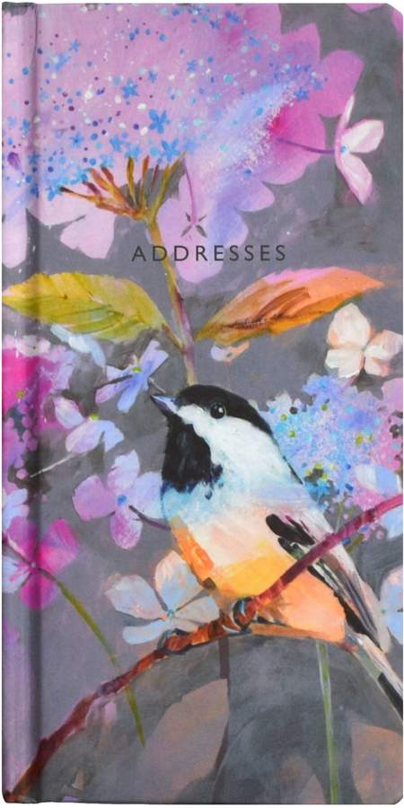 Bird Print Address Book