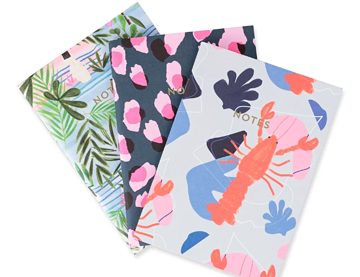 Mr Lobster notebook set