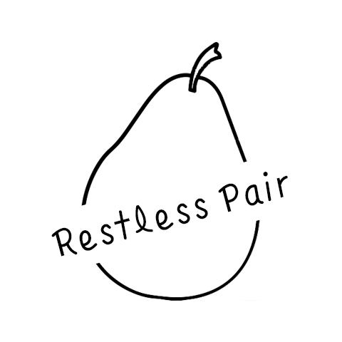 Restless Pair - Blog; www.restlesspair.comTwitter; @restlesspairInstagram; @restlesspair