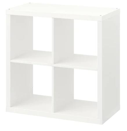 Kallax storage cube 77cm x 77cm - Ikea