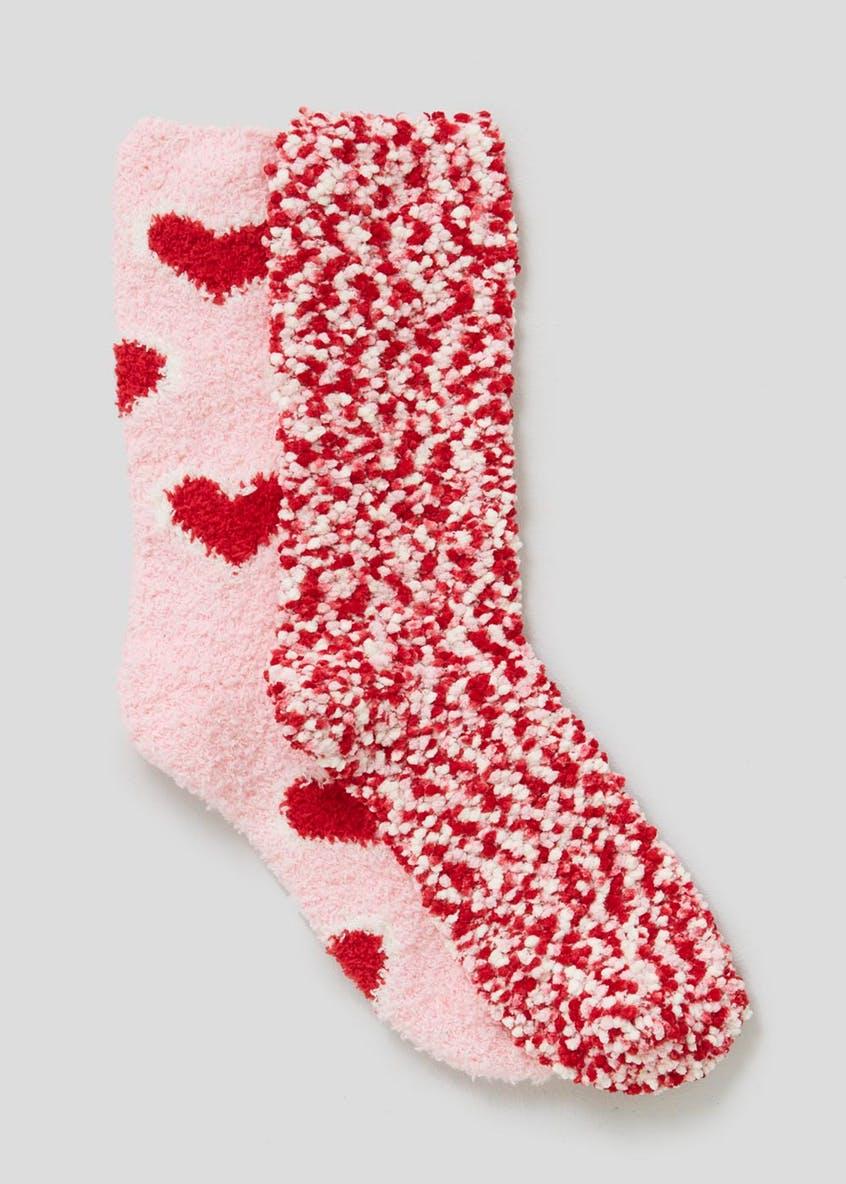 Fluffy socks - £4.50 from Matalan