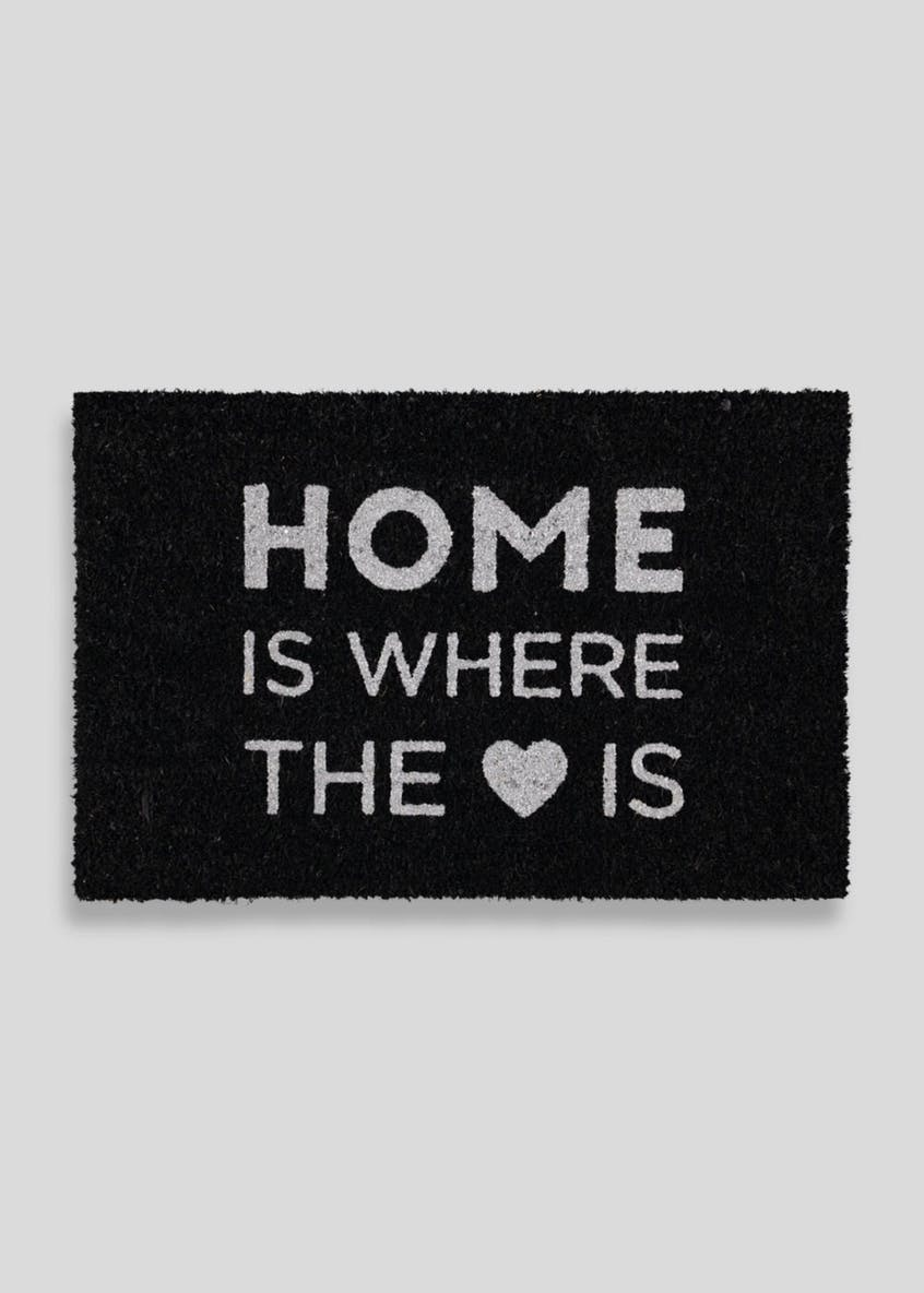 Home is Where the Heart Is Mat - £8.00 from Matalan