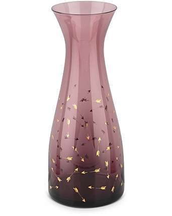 Purple glass carafe - £18.00 from Oliver Bonas*