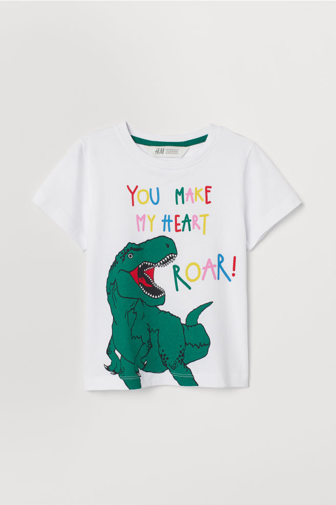 You Make my Heart Roar t Shirt - £2.99 from H&M*