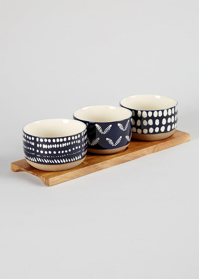 Ceramic Bowl Set - £10.00 from Matalan